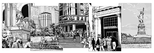 New York City Note Cards and Party Invitations