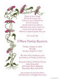 Family Reunion Letter Template, frt-08