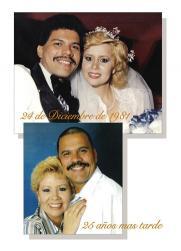 25th Wedding Anniversary Party Invitation