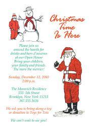 Christmas Party Invitation, CPIT-03
